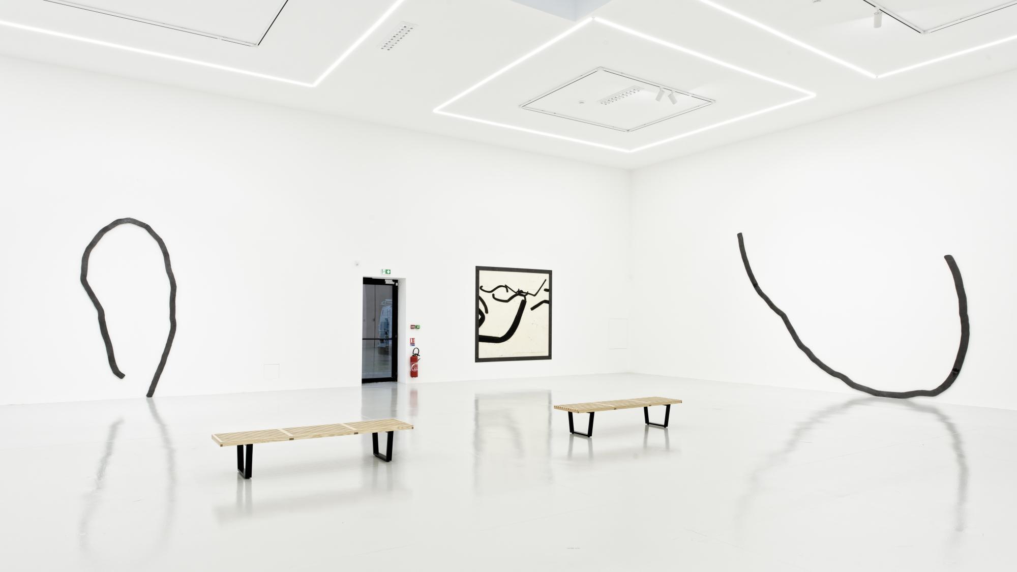 Exhibition view - Bernar Venet - Saint-Etienne - 2021