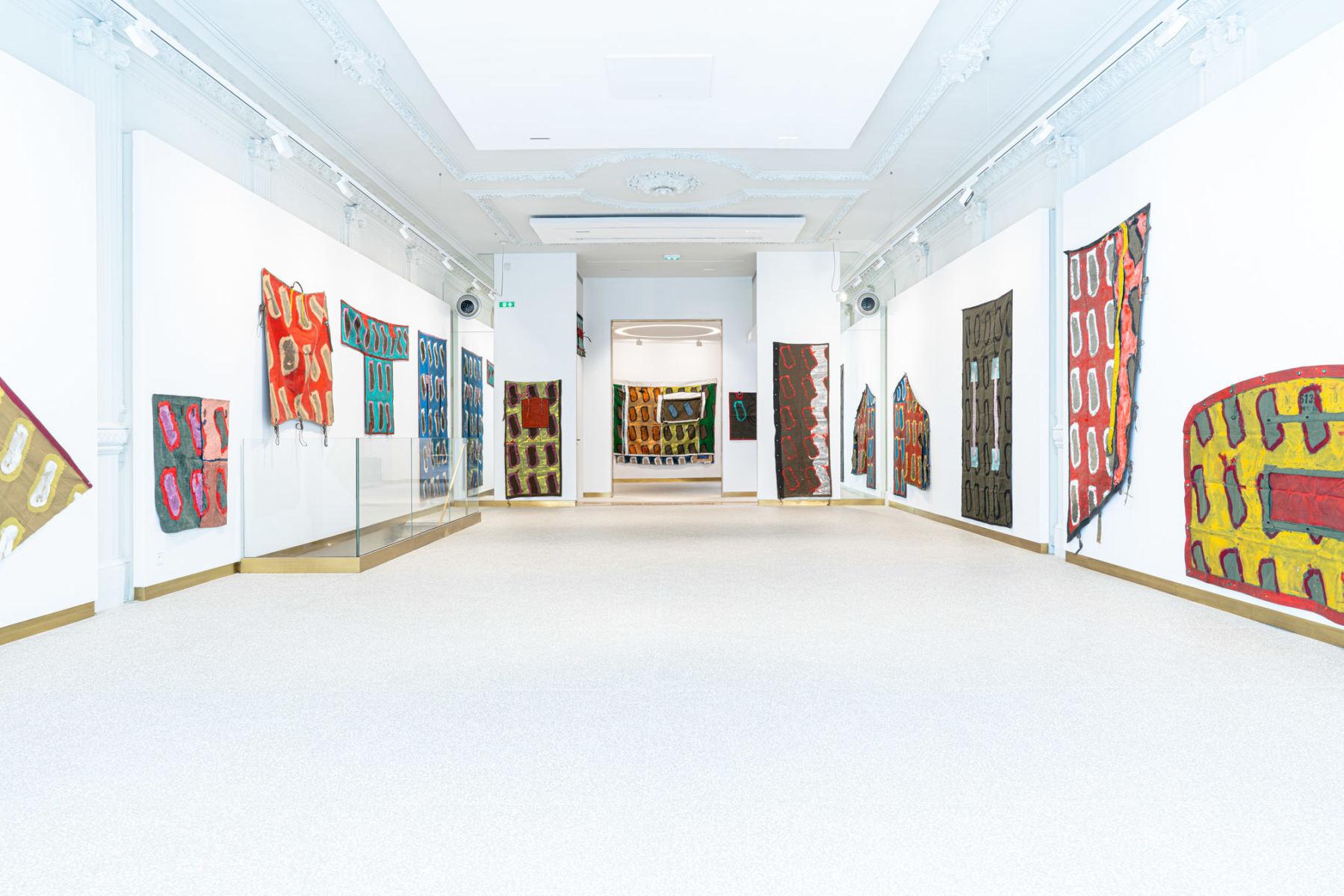 Exhibition-View-Claude-Viallat-2021-Lyon