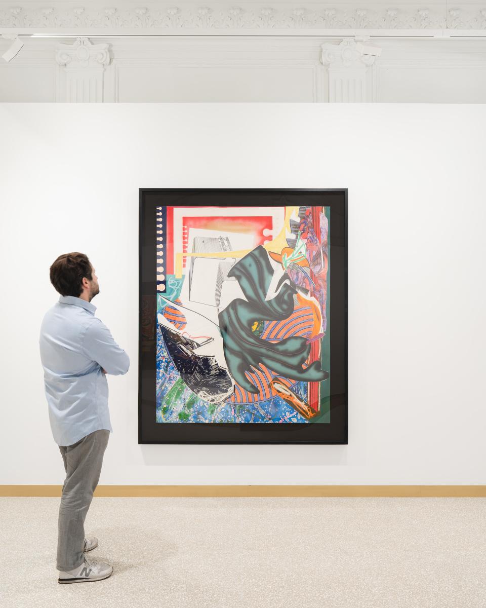Exhibition View Frank Stella Lyon 2021 #6