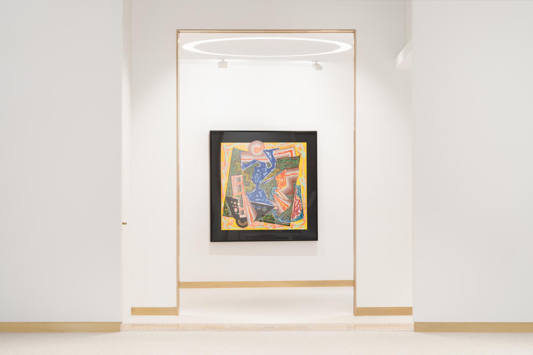 Exhibition View Frank Stella #8