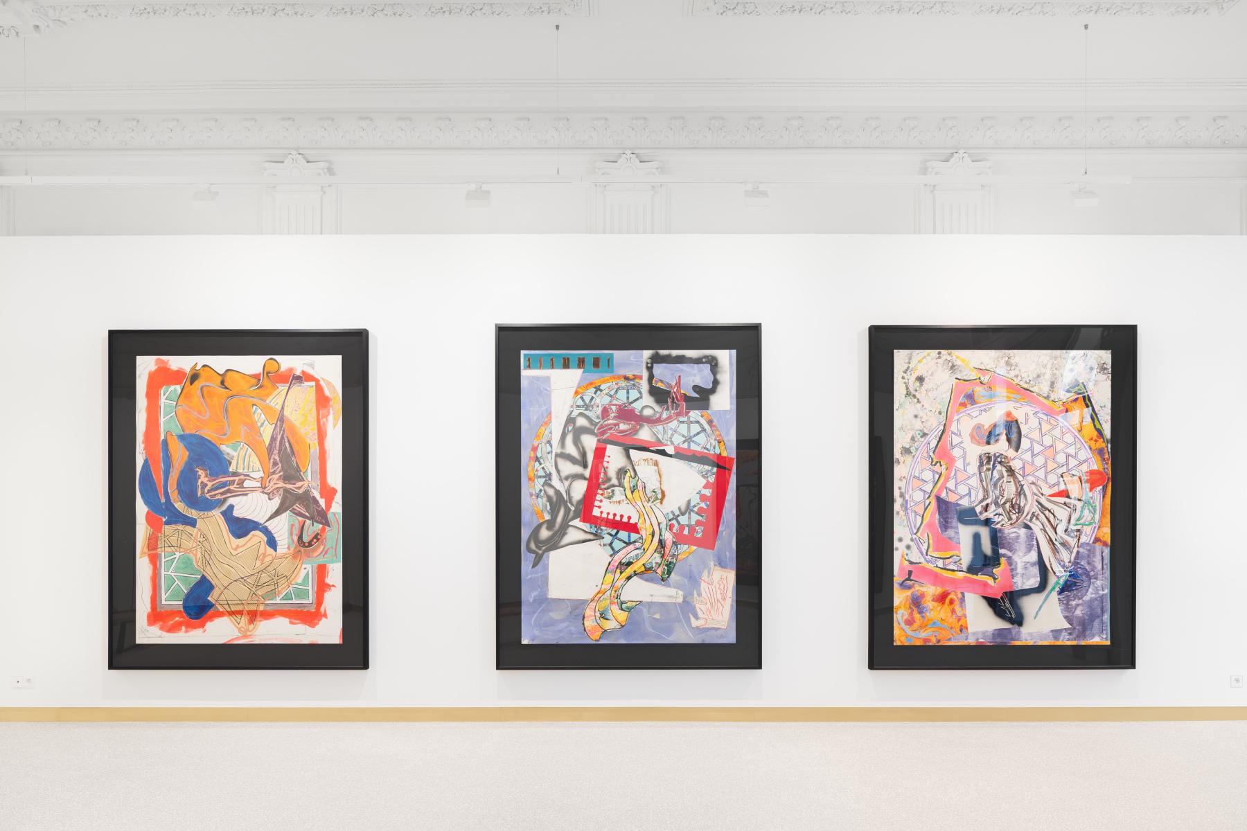 Exhibition View Frank Stella Lyon 2021 #3