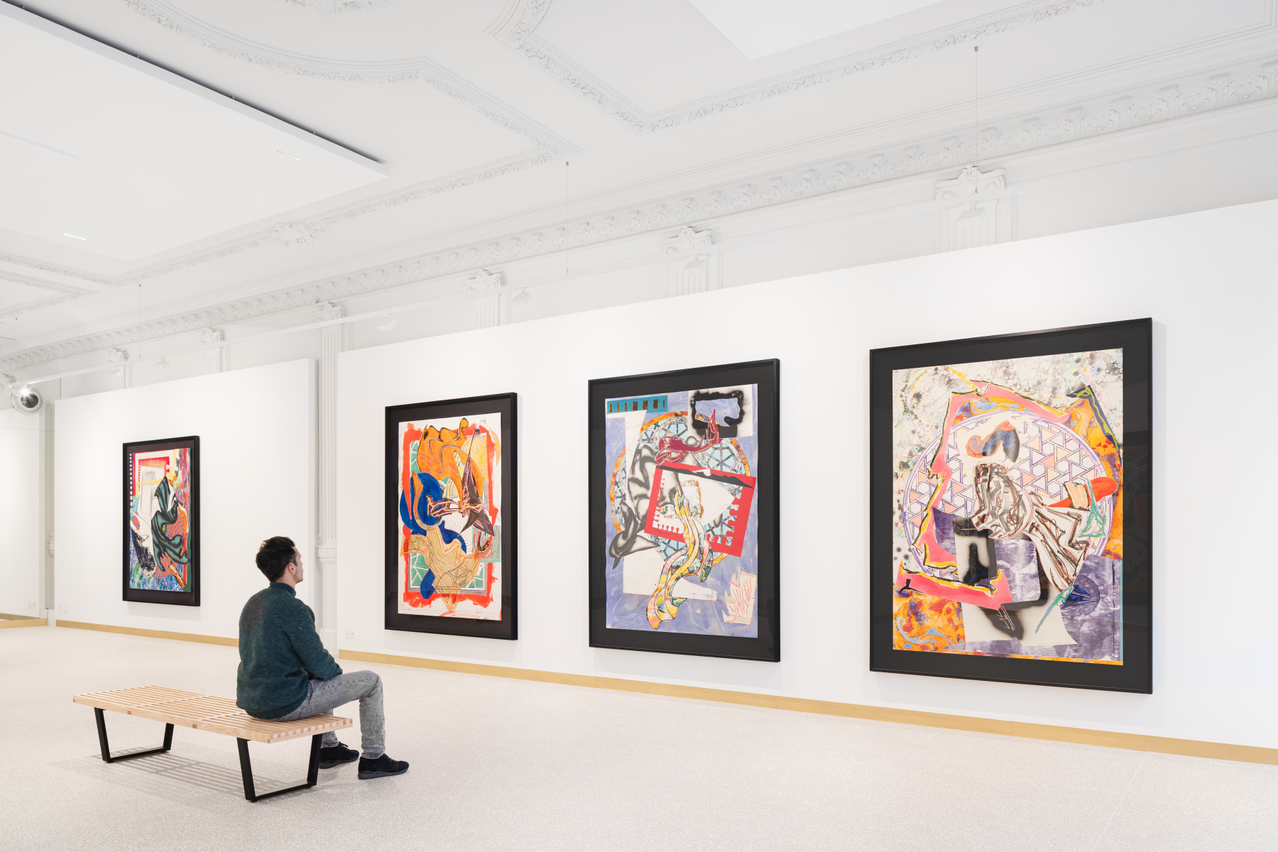 Exhibition View Frank Stella Lyon 2021 #4