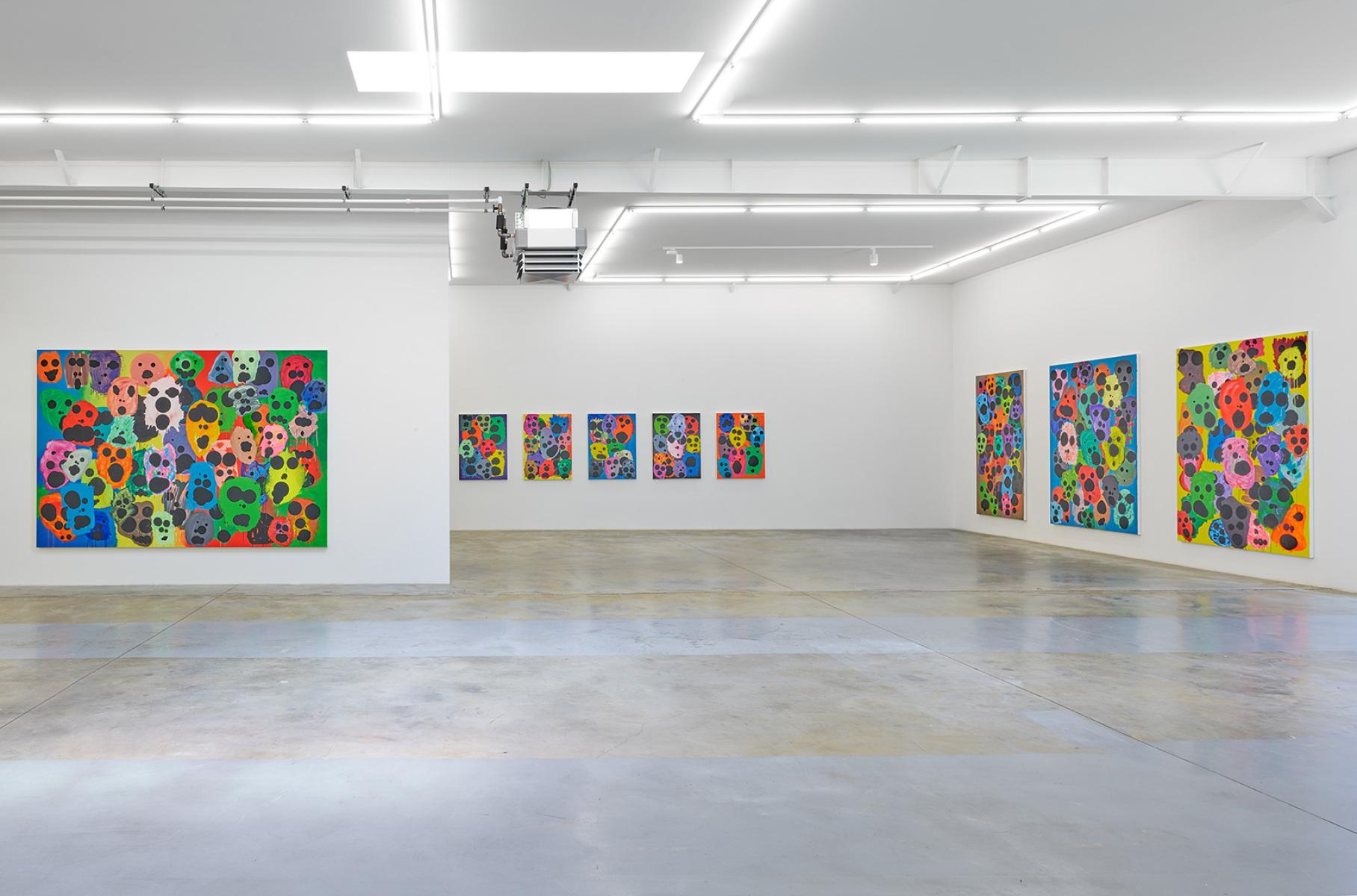 Exhibition view, Mitja Tušek, Freitzeit ist Arbeit, Wandhaff, juin 2021 #8