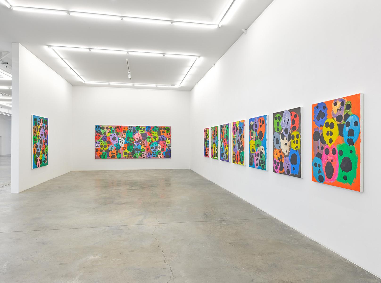 Exhibition view, Mitja Tušek, Freitzeit ist Arbeit, Wandhaff, juin 2021 #11