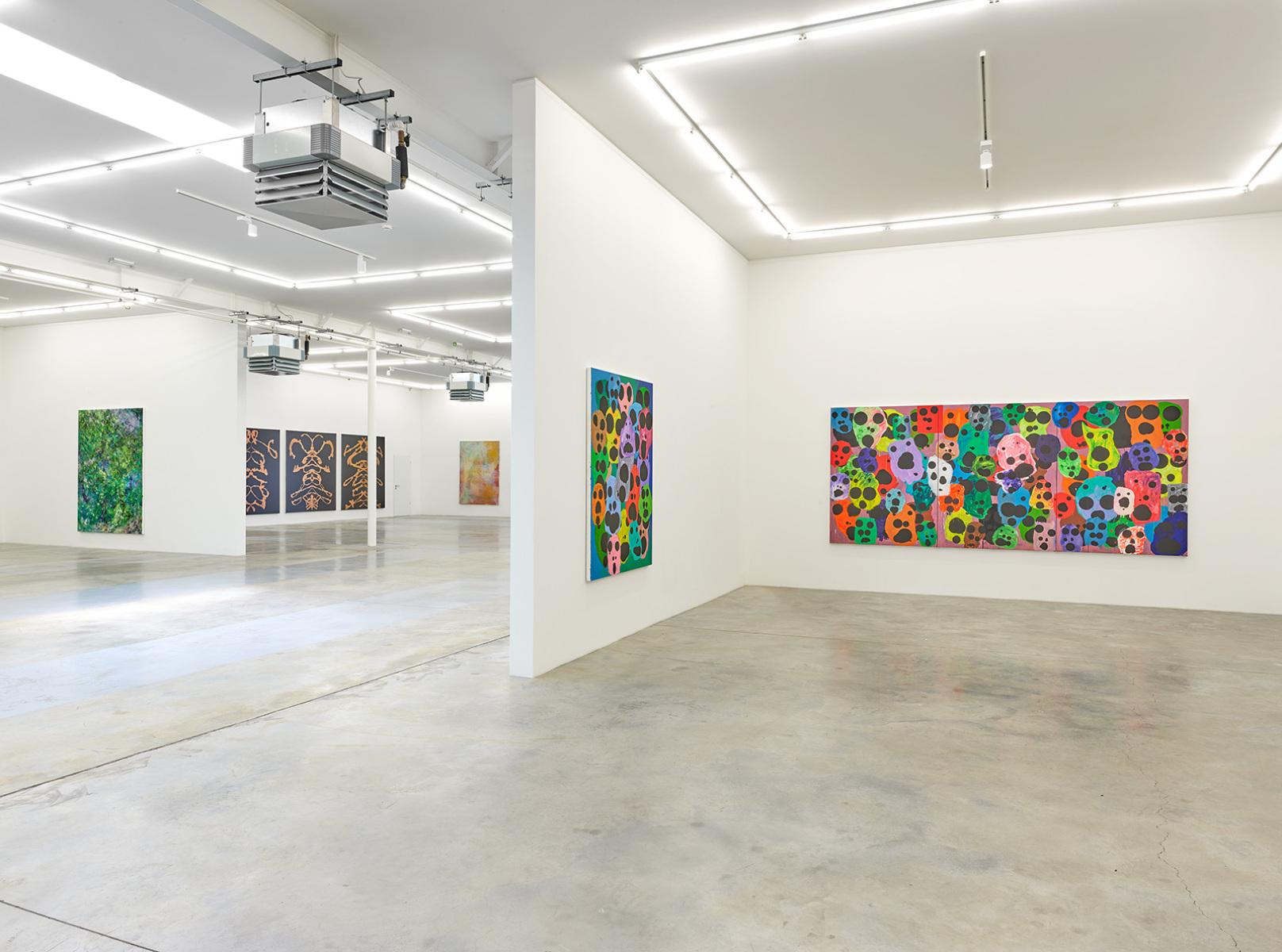 Exhibition view, Mitja Tušek, Freitzeit ist Arbeit, Wandhaff, juin 2021 #12