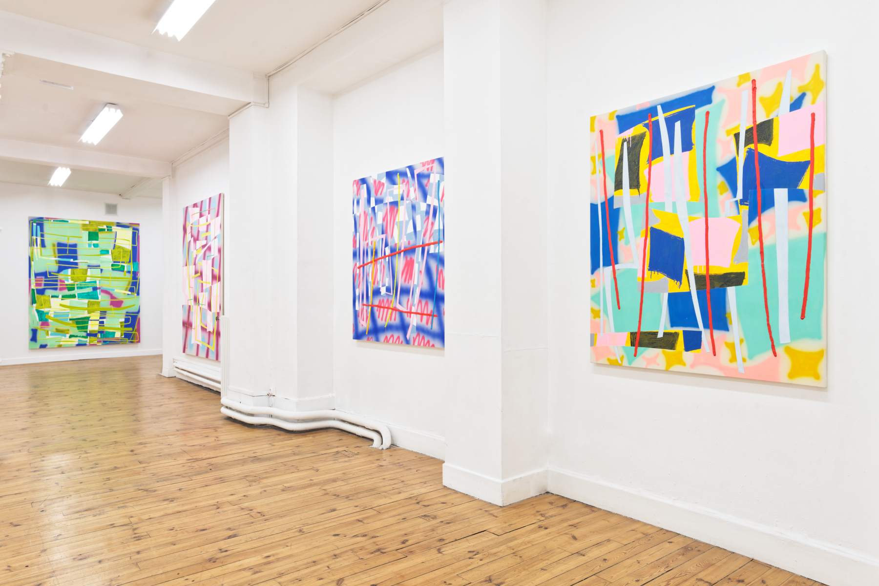 Exhibition View / Z / Z / Trudy Benson Saint-Etienne 2021