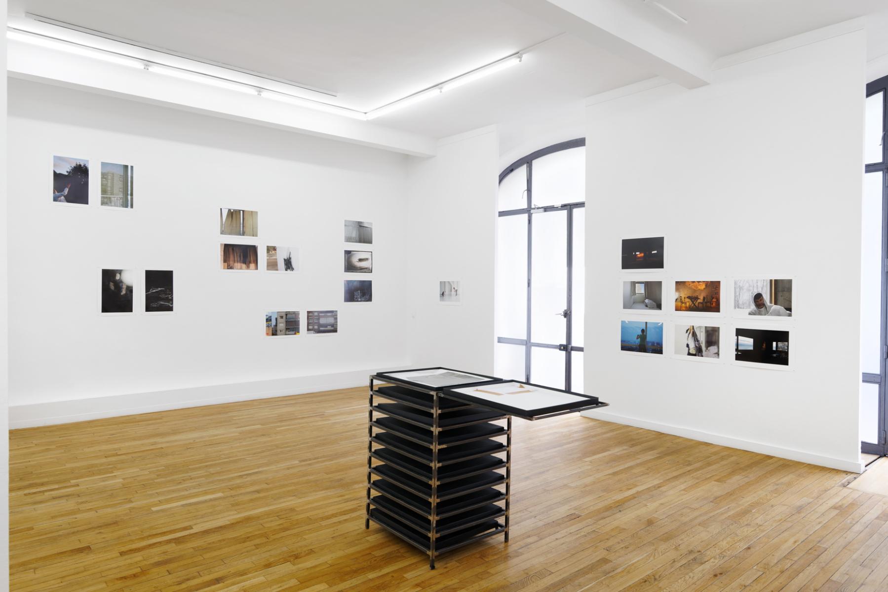 Vue d'exposition Aurélie Pétrel